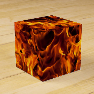 Caja Para Regalos Modelo del fuego y de la llama
