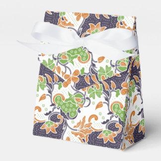 Caja Para Regalos Modelo floral artístico del batik de las vides