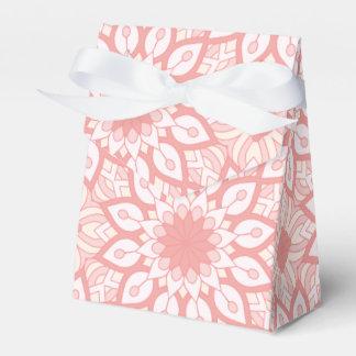 Caja Para Regalos Modelo geométrico de la mandala floral atractiva