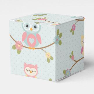 Caja Para Regalos Modelo hermoso del búho del bebé