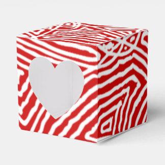 Caja Para Regalos Modelo rojo de Scribbleprints
