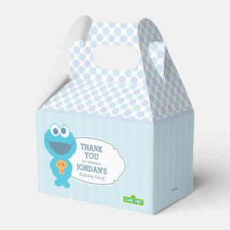 Caja Para Regalos Monstruo de la galleta del bebé del Sesame Street