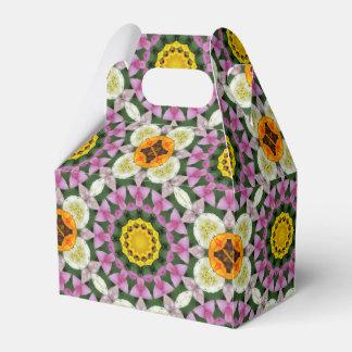 Caja Para Regalos Naturaleza de los tulipanes, Flor-Mandala 002