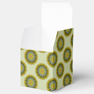 Caja Para Regalos Naturaleza del girasol, Flor-Mandala