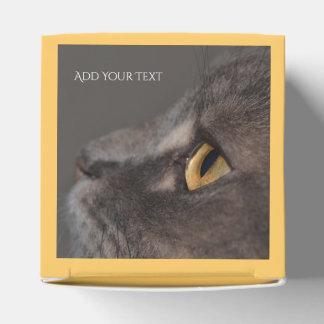 Caja Para Regalos Ojo-Macro del gato de Shirley Taylor