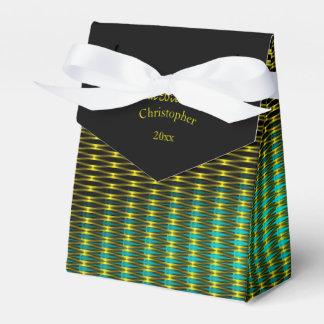 Caja Para Regalos Oro y modelo verde del arte