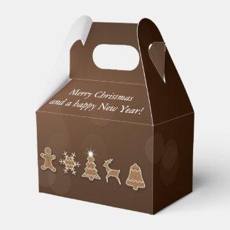 Caja Para Regalos Pan de jengibre noble del navidad - aguilón de la