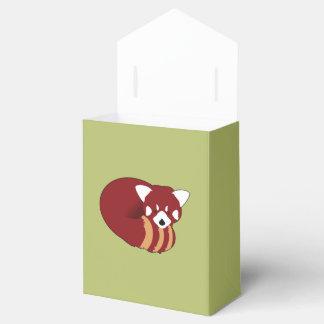 Caja Para Regalos Panda roja