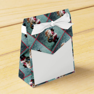 Caja Para Regalos Papá Noel, cuadro 4,4 del navidad del vintage