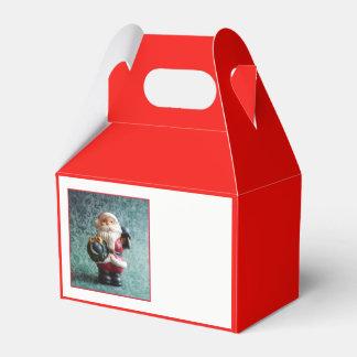 Caja Para Regalos Papá Noel, cuadro 4,9 del navidad del vintage