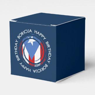 Caja Para Regalos Puerto Rico: Tema de la bandera: Cumpleaños