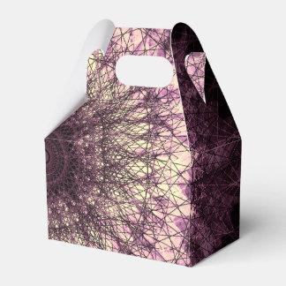 Caja Para Regalos Purple Mandala