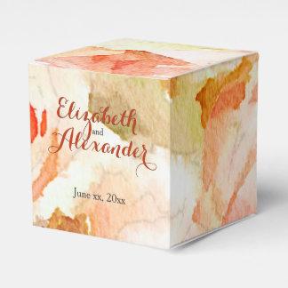 Caja Para Regalos Rosas rosados del melocotón con nombres modernos