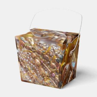Caja Para Regalos Saque la impresión de la gota de los tonos de la