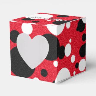 Caja Para Regalos Sr. y señora Heart Favor Box del boda del fiesta