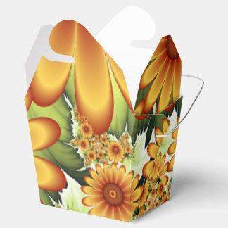 Caja Para Regalos Sueño floral, arte abstracto moderno del fractal