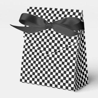 Caja Para Regalos Tablero de damas clásico blanco y negro