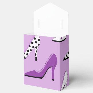 Caja Para Regalos Tacones altos de lujo púrpuras bonitos