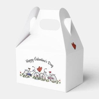 Caja Para Regalos Tarjeta del día de San Valentín de los amantes de
