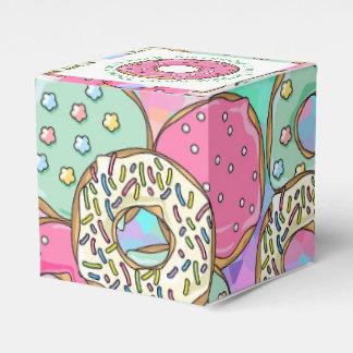Caja Para Regalos Tema en colores pastel de la fiesta de cumpleaños