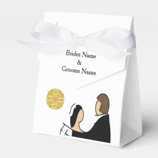 Caja Para Regalos Tema escocés y céltico del boda de los pares