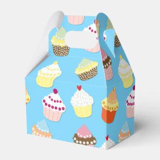 Caja Para Regalos Tortas azules en colores pastel pálidas de la taza
