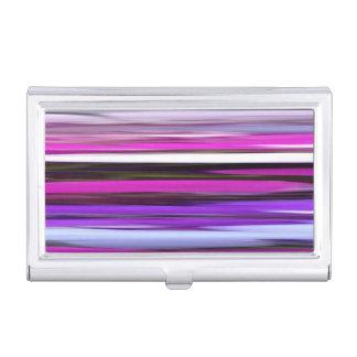 Caja Para Tarjetas De Visita #2 abstracto: Falta de definición púrpura