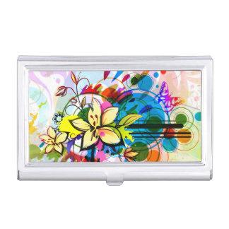Caja Para Tarjetas De Visita Arte abstracto 26