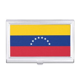 Caja Para Tarjetas De Visita Bandera de Venezuela