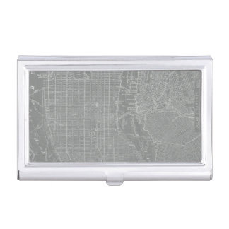 Caja Para Tarjetas De Visita Bosquejo del mapa de New York City