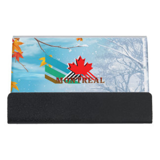 Caja Para Tarjetas De Visita CAMISETA Montreal