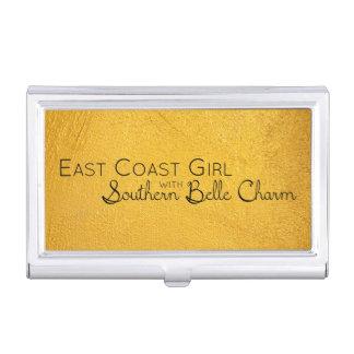 Caja Para Tarjetas De Visita Chica de la costa este con encanto meridional de