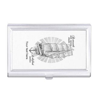 Caja Para Tarjetas De Visita Cita del Schooner de la nave