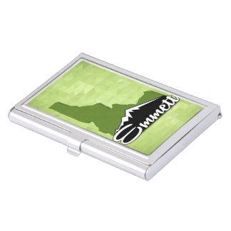 Caja Para Tarjetas De Visita Ciudad natal de Emmett Idaho Idahoan el condado de