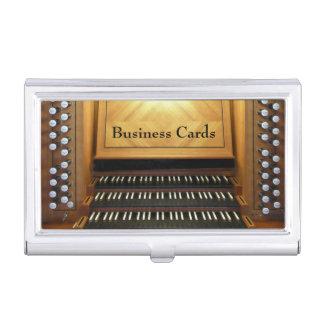 Caja Para Tarjetas De Visita Consola del órgano