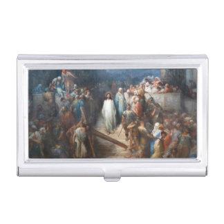 Caja Para Tarjetas De Visita Cristo que deja Praetorium