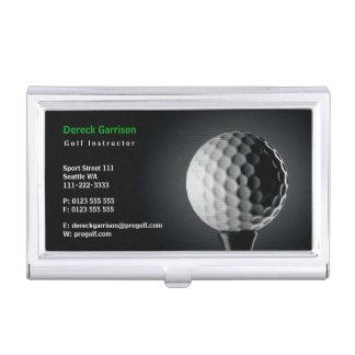 Caja Para Tarjetas De Visita Deporte perfecto del instructor el | del golf