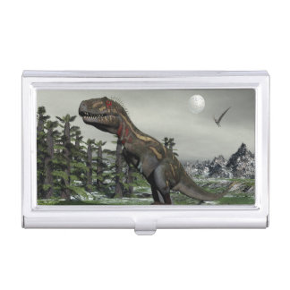 Caja Para Tarjetas De Visita Dinosaurio de Nanotyrannus - 3D rinden