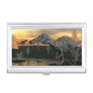 Caja Para Tarjetas De Visita Dinosaurios de Suchomimus - 3D rinden