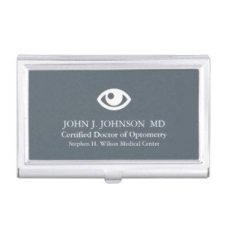 Caja Para Tarjetas De Visita Doctor de la optometría personalizado