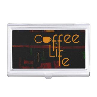 Caja Para Tarjetas De Visita El café es vida