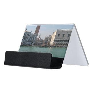 Caja Para Tarjetas De Visita El cuadrado de St Mark del Gran Canal