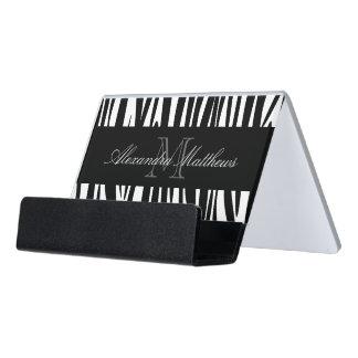 Caja Para Tarjetas De Visita Estampado de zebra