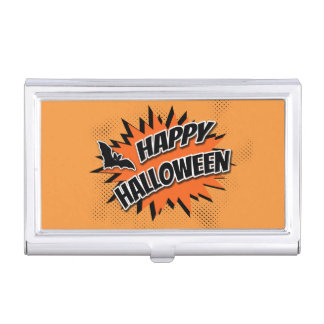 Caja Para Tarjetas De Visita Feliz Halloween