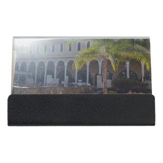 Caja Para Tarjetas De Visita Hotel de Tenerife en pequeño portatarjetas de la