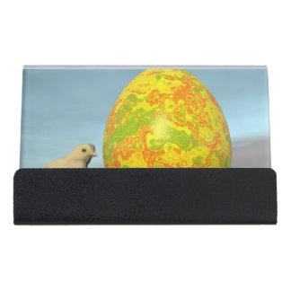 Caja Para Tarjetas De Visita Huevo y polluelos de Pascua - 3D rinden