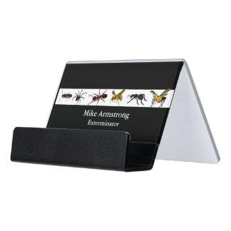 Caja Para Tarjetas De Visita Insectos de los insectos del control de parásito