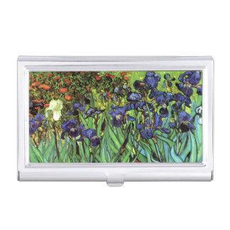 Caja Para Tarjetas De Visita Iris por la bella arte de Van Gogh