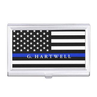 Caja Para Tarjetas De Visita La policía diseñó nombre del personalizado de la