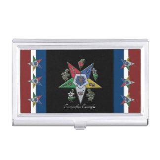 Caja Para Tarjetas De Visita Orden de la estrella del este los E.E.U.U.